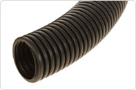 Труба гофрированная ПНД Строительная безгалогенная (HF) c/з д32 (25м/1375м уп/пал)