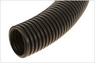 Труба гофрированная ПНД Строительная безгалогенная (HF) c/з д25 (50м/2600м уп/пал)