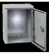 Щит с монтажной панелью ЩРНМ-1 IP54 (400х300х220)