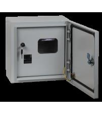 Корпус металлический ЩУ-1ф/1-1-6 IP54 (2 двери) (310х300х150) ЩУ-1/2 IP54