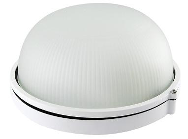 Светильник НПП/6002S (HPL007S) 60W/220V (White) круг