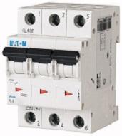 Авт. выкл. PL4 3P 20А, тип С, 4,5кА, 3M