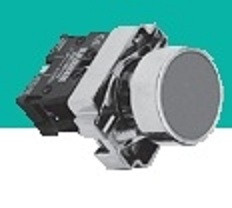 Кнопка управления XB2-BS542, пластик, гриб с фиксацией, 1NC