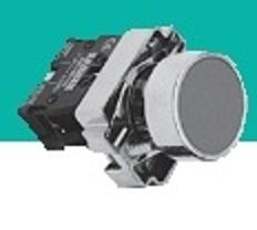 Кнопка управления XB2-ВА31, металл, зеленая