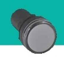 Лампа сигнальная AD22-22DS белая, АС220
