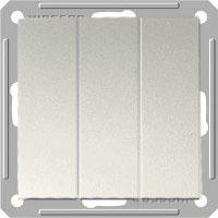Выключатель W59 VS0510-351-5-86 3-кл. 10A, мат.хром