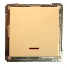 Выключатель W59 VS110-153-2-86 с/инд 10A, сл.кость