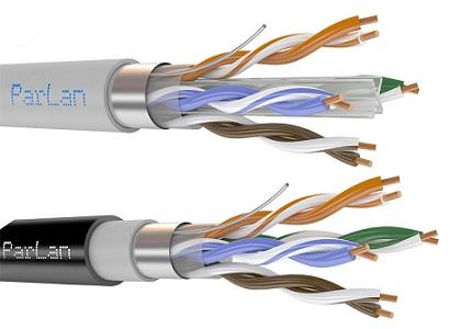 кабель (провод) ParLan™ F/UTP Cat 5e 2х2х0,52 PVC (500м)