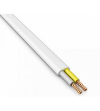Провод ПБВВ-2х1,0 бел