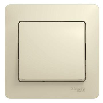 Выключатель Glossa GSL000212 с/рамк., беж.