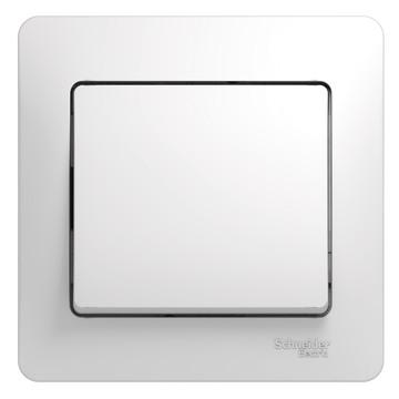 Выключатель Glossa GSL000112 с/рамк., бел.