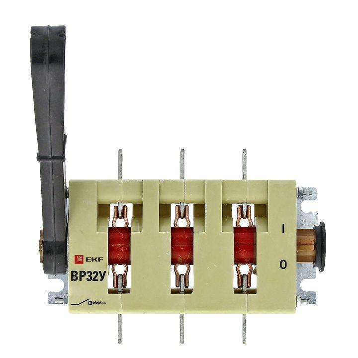 Выключатель-разъединитель ВР32У-31А31220 100А 1 направ. с д/г камерами несъемная левая/правая рукоят