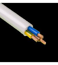 Провод ПВС-Т 3х1,0 белый