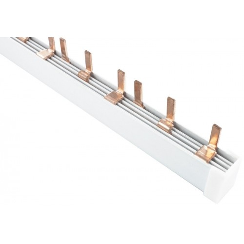 Шина соединительная типа PIN для 1-ф нагр. 63А 54 мод. EKF