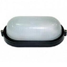 Светильник НПП/6012L (HPL009L) 100W/220V (Black), овал