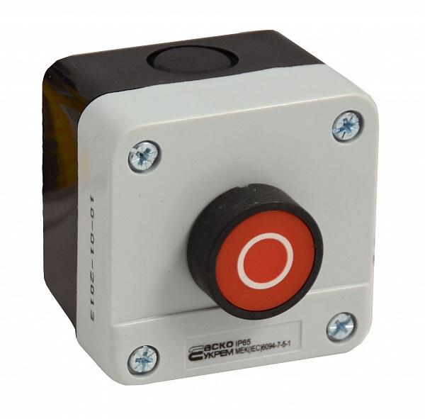 Пост кнопочный XAL-B112, СТОП
