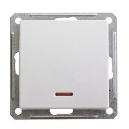Выключатель W59 VS110-153-1-86 с/инд 10A, бел.