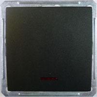 Выключатель W59 VS110-154-6-86 10A, ч.бархат