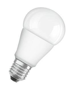 Лампа светодиодная LED STAR ClassicA60 6,8W/827 230V FR E27 (10) OSRAM теплый белый свет, матовая колба