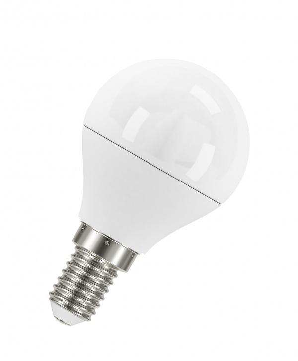 Лампа светодиодная LED STAR Classic P40 5,4W/830 E14 шар, теплый белый свет, матовая колба