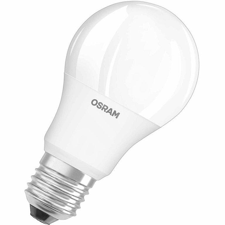 Лампа светодиодная LED STAR ClassicB40 5W/840 230V Е14 OSRAM свеча, белый свет, матовая колба