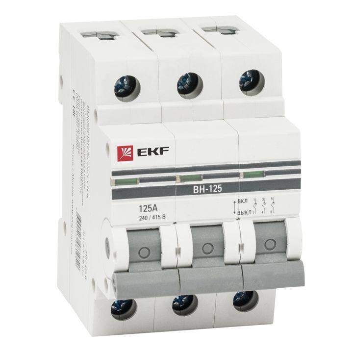 Выключатель нагрузки ВН-63, 3P 16А EKF PROxima