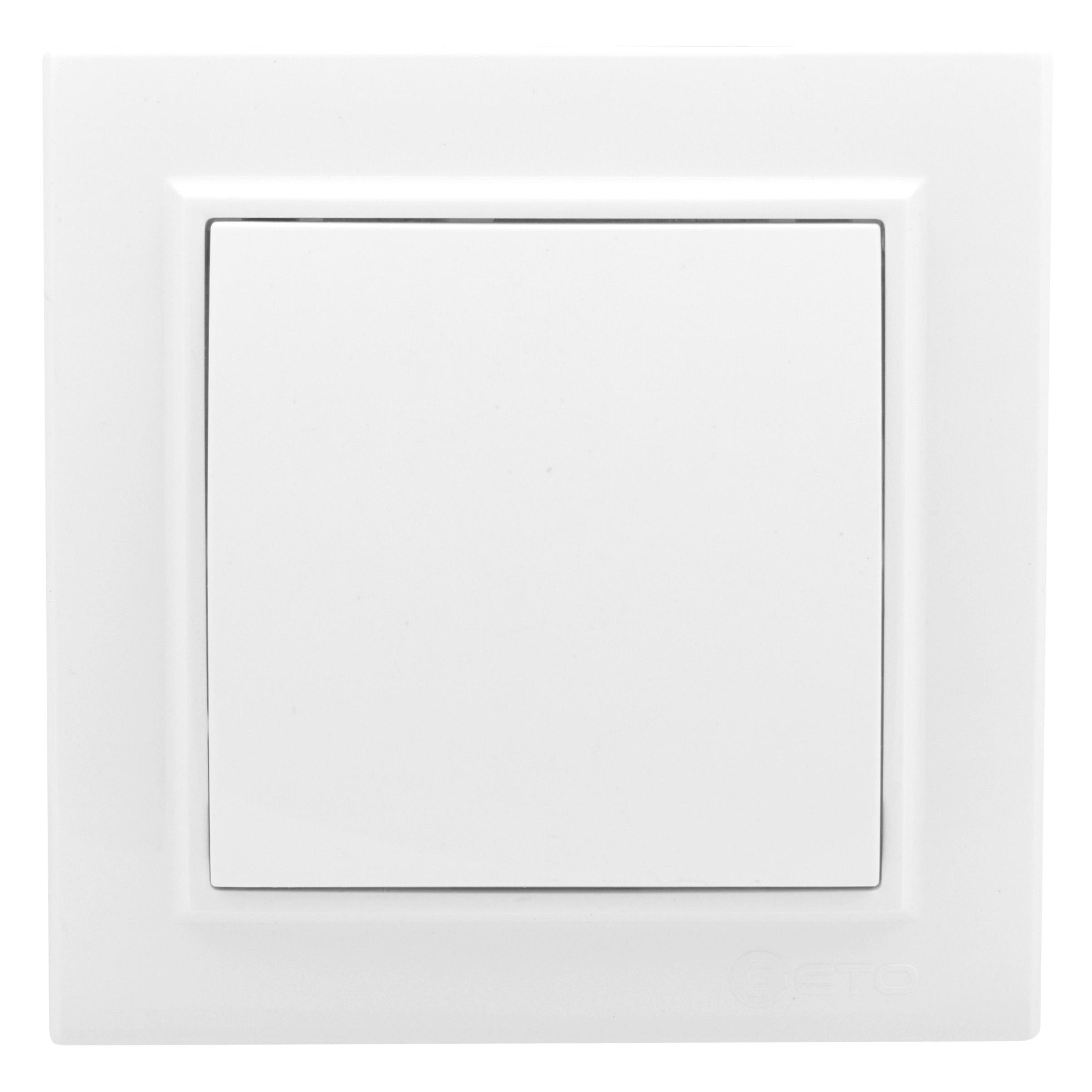 Выключатель 1-кл. Минск СП 10А белый
