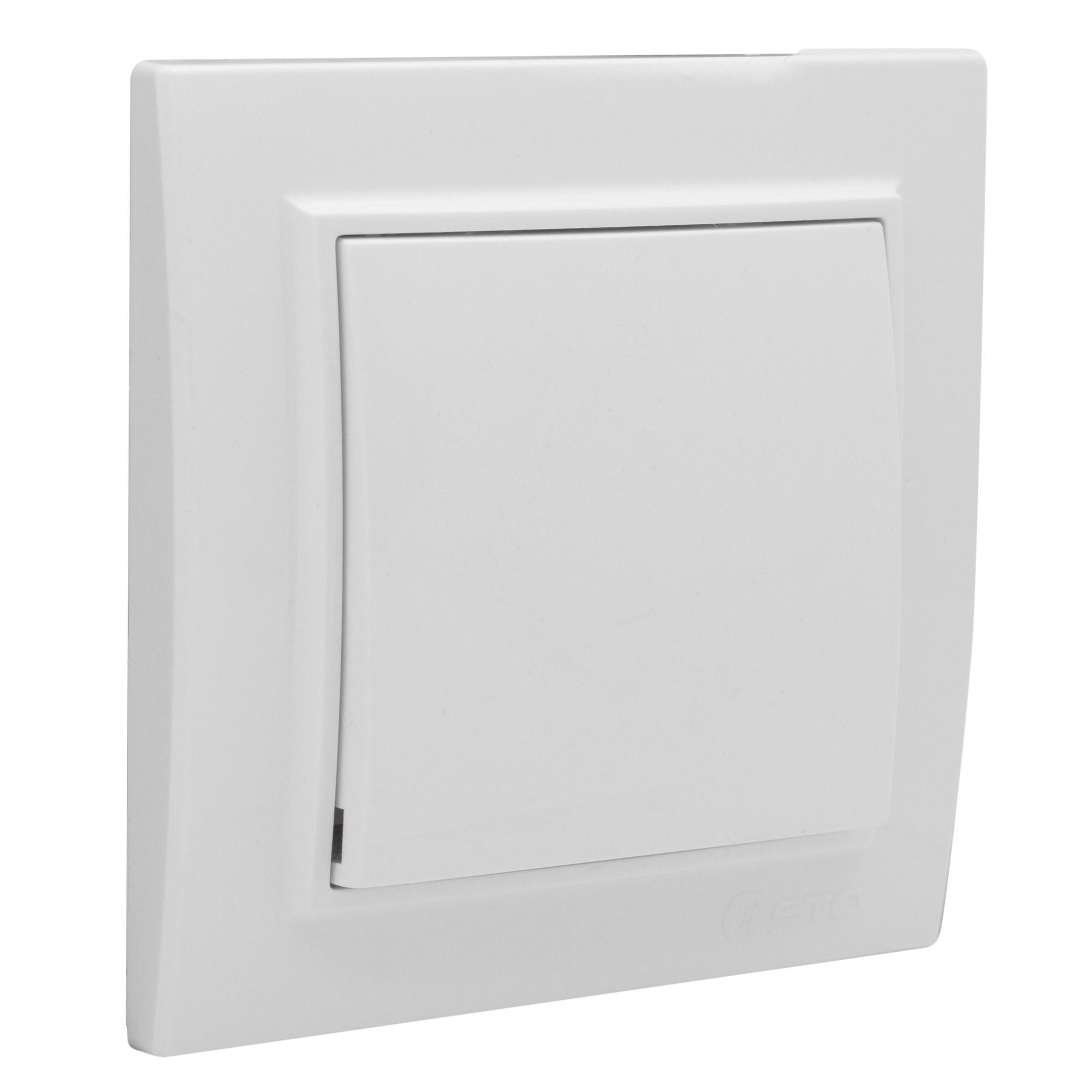 Выключатель 1-кл. Минск СП 10А проходной белый