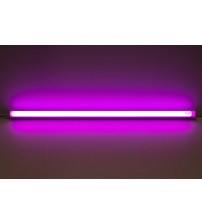 Светильник светодиодный с выкл., T5, 6W, розовый, 300 мм, Truenergy