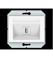 USB розетка без рамки XP 500