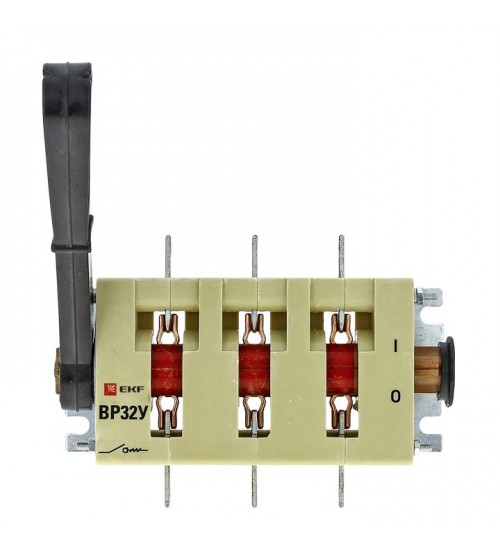 Выключатель-разъединитель ВР32У-31B31250 100А 1 направ. с д/г камерами съемная левая/правая рукоятка