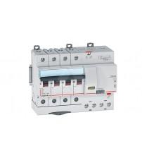 Дифф. авт. выключатель Legrand DX3, электромеханический, 4P, 40А, хар-ка C, 6кА, 30mA, тип AC, 7М