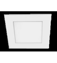 Светильник встраиваемый PPL-S 6w 4000K IP40 WH 120мм встр/квадр Jazzway 5008229А