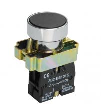 Кнопка управления XB2-ВА21, металл, черная