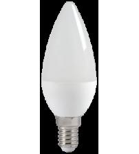 Лампа светодиодная ECO С35 свеча 5Вт 230В 4000К Е14 IEK