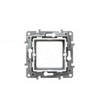 Etika - Адаптер для установки механизмов Mosaic 45x45 (белый)