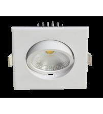 Светильник PSP-S  8840 5W 4000K 60° встр/квадр White  IP40 Jazzway