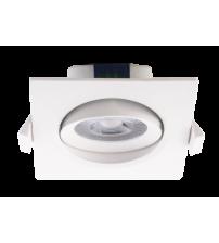 Светильник PSP-S 9044 7W 4000K 38° квадр/повор White  IP40 Jazzway